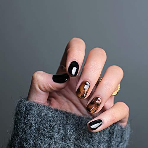 Abgel Gel Top Coat Esmalte de uñas en gel, 2pcs 7.5ml Base de esmalte de uñas en gel transparente y esmalte de uñas, Soak Off LED / UV No Wipe Gel Top Coat Esmalte de uñas