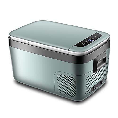GETZ Mini Refrigerador para Automóvil 18L / 25L Nevera Portátil Eléctrica con Compresor Nevera Coche para Conducir, Viajes, Picnic Al Aire Libre, 12 V / 24 V / 240 V