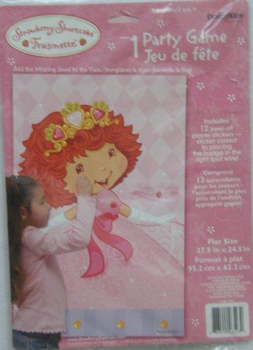 Designware Strawberry Shortcake 'Berry Princess' Party Game Poster (1ct)