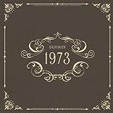1973 Gästebuch: Vintage Geburtstags Party...