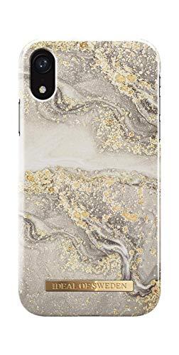 iDeal Of Sweden Handyhülle für iPhone XR (Sparkle Greige Marble)