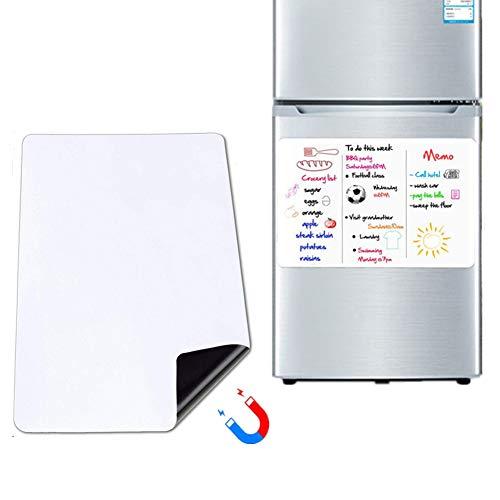 Pizarra Blanca Magnética Nevera Pizarra Magnetica Nevera Cocina Aviso Junta Ideal para refrigerador de Pared Los niños Pizarra Aviso Junta roundangle