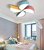 Dessin animé plafond lampe pépinière plafonnier lumière lampe LED bébé acrylique moulin à vent pour les jeunes lampshade chambres chambre dimmlüster distance de couloir salon de Arbeitszimmer,36W