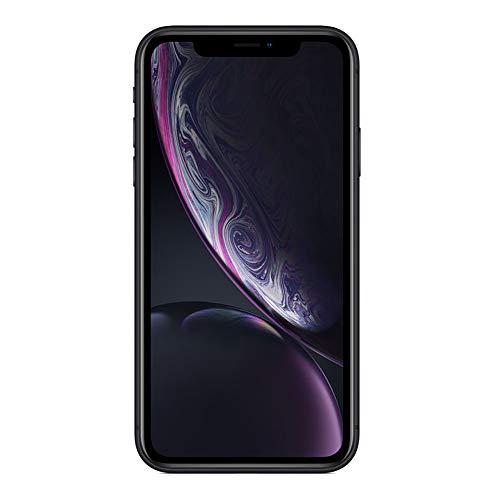 Apple Smartphone iPhone XR - 128 GB - Desbloqueado - Color Negro - Renewed