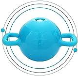 ZJDM Kettlebell Kettlebells Kettlebells de Agua | Kettlebell de Peso Ajustable de 1 a 15 Libras | Mancuernas de Doble Oreja para Entrenamiento de Fuerza de Culturismo (Color: Azul)