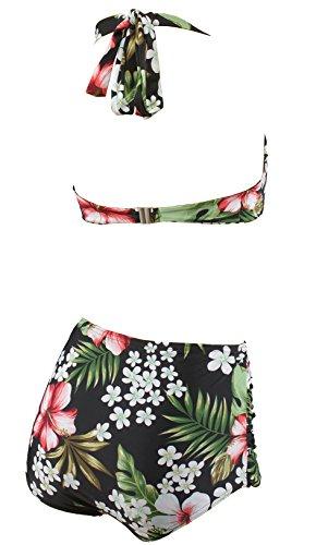 Aloha-Beachwear Damen Bikini A1026 Mehrfarbig Gr. 38 - 3