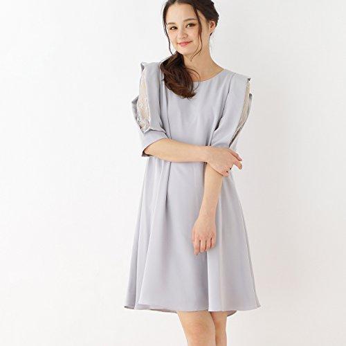 (クチュールブローチ) Couture Brooch Dorry Doll スリーブレースワンピース 50953003 38 ライトグレー(011)