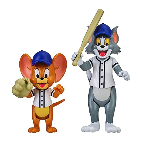 Tom & Jerry 3 Inch Action Figure Twin Pack Assorted 2 Figurine Packs (Play Ball)