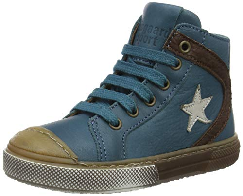 Bisgaard Unisex-Kinder 31818218 Hohe Sneaker, Blau (1003-1 Petrolio 1003-1), 19 EU