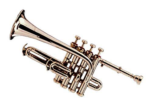 Intermédiaire Piccolo Trompete en Sib/A. Neuf. laiton nickel