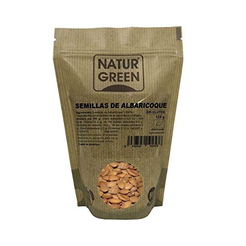 NaturGreen Semillas de Albaricoque, 125 gr
