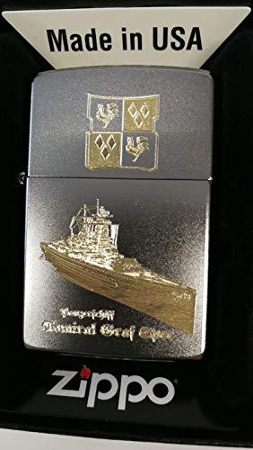 Zippo 18119 Panzerschiff Admiral Graf Spee - Satin finish - Diamantgravur