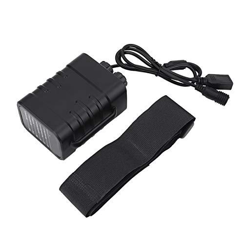 Caja De Batería Impermeable, Caja De Caja De Batería para 6x18650 Baterías para Lámpara De Bicicleta Y Teléfono Inteligente