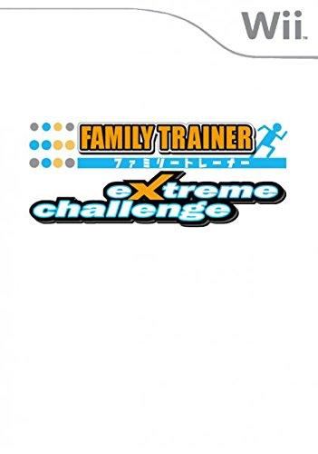 Family Trainer Extreme Challenge [Importación italiana]