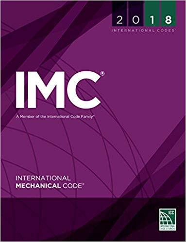 [1609837436] [9781609837433] 2018 International Mechanical Code (International Code Council Series) 1st Edition-Paperback