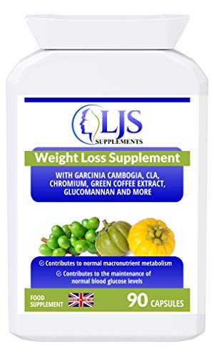 Weight Loss Support - Weight Loss - Increased Burn Rate of Carbohydrates & Fats - Healthy Cholesterol - Faster Metabolism - Stable Blood Sugars - Appetite Control - Made in UK.