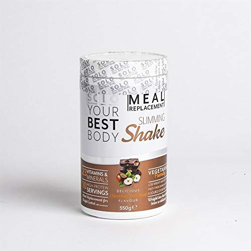 BAZONA - Solo Meal Replacement Slimming Shake 550g - Chocolate Hazelnut