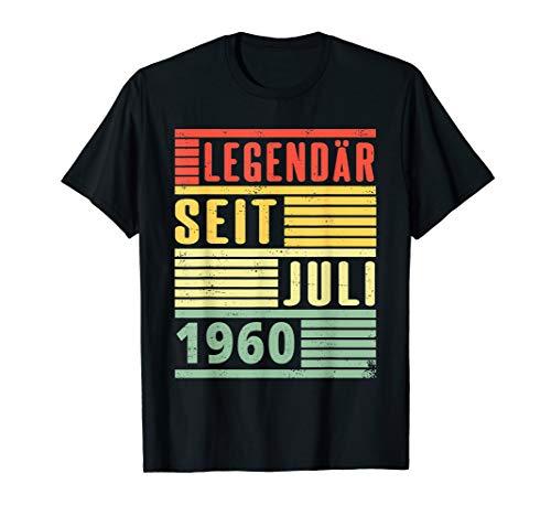 Legendär seit Juli 1960 60. Geburtstag Vintage T-Shirt