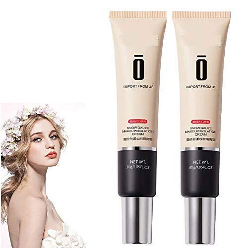 Moist Whitening Concealer Foundation Cream,Crème de Base de Maquillage Douce en Soie de Fil de Neige (01#Green)