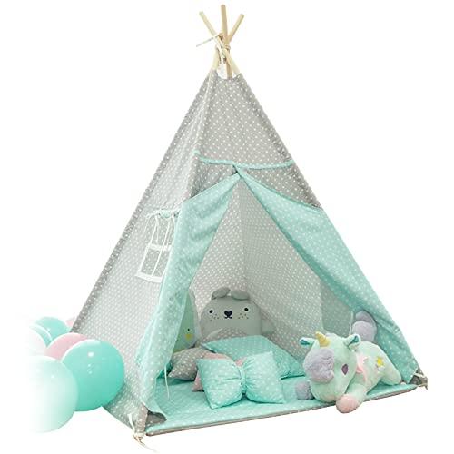 LTINN Tenda per Bambini, casetta Giocattolo per Bambini, Design Raffinato della Finestra a Piedi, Facile da Usare, Confortevole e Resistente