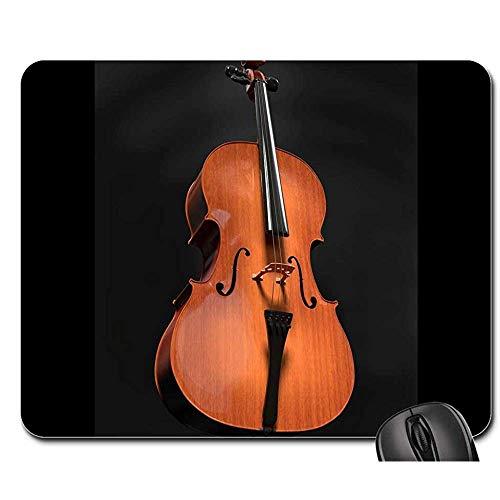 Mauspad Cellosaiten Saiteninstrument Holzinstrument Mauspads Mauspad Mousepad Mauspad Spielmatte 25X30cm
