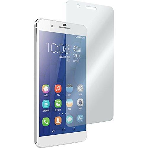 2 x Glas-Folie klar kompatibel mit Huawei Honor 6 Plus - Panzerglas für Honor 6 Plus