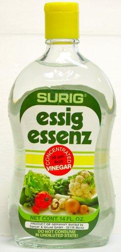 Surig Vinegar Essence, 14-Ounce Bottle (Pack of 12)