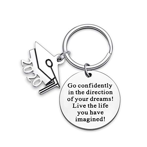 2020 Graduation Gifts for High School College Graduates Keychain Him Her Graduation Masters Nurses Students from College Medical Inspirational Gifts for Women Men Girls Daughter Son Graduates