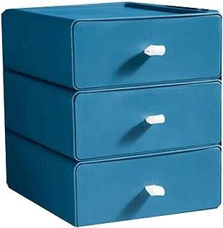 Lpiotyucwh Paniers et Boîtes De Rangement, Boîte de Rangement 4 pièces Boîtier de Bureau Boîte de Rangement Boîte de Range...