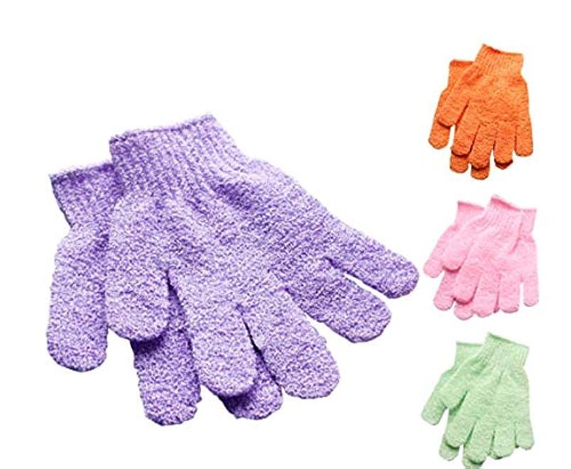 うつ大腿ワークショップやさしく垢を取る垢すり手袋 新発売