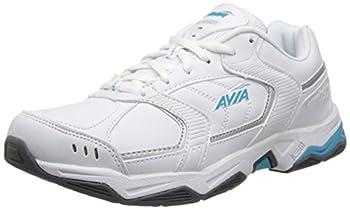 Avia Women s Tangent-W White/Detox Blue/Chrome Silver 10.5 M US