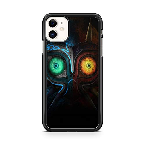 Générique - Carcasa rígida para iPhone 5, 5S y iPhone Se The Legend of Zelda con máscara de Majora Majoras Mask, color negro