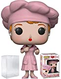 Funko Pop! TV: I Love Lucy - Factory Lucy Vinyl Figure (Bundled with Pop Box Protector Case)
