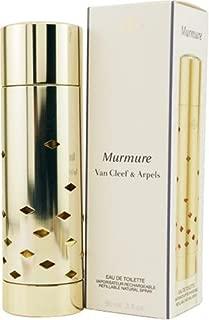 Murmure By Van Cleef & Arpels For Women. Eau De Toilette Refillable Spray 3-Ounce
