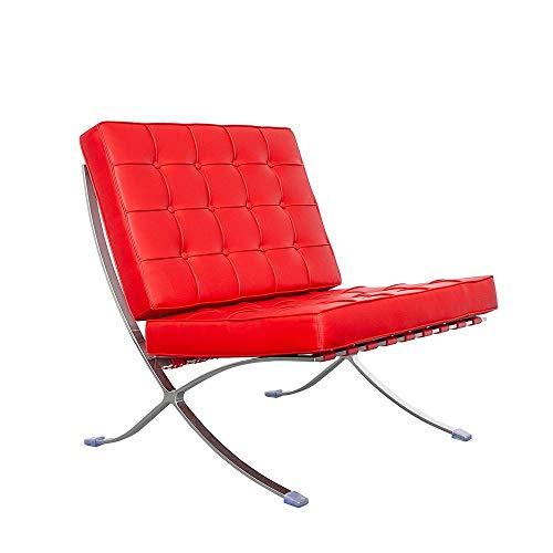 IVOL - Poltrona Barcelona, colore: Rosso