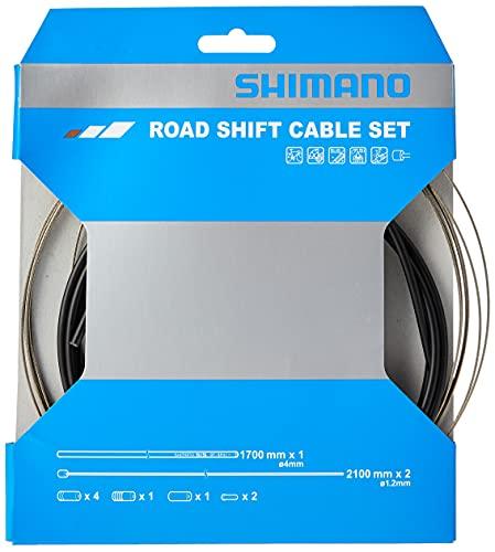 Shimano (SHNO5, Kit Cavi Bici da Corsa, Nero Taglia Unica