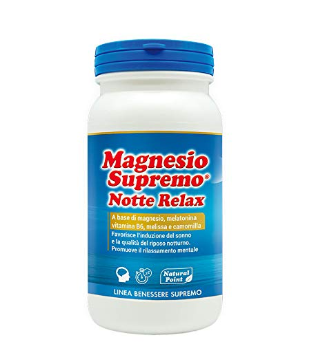 Natural Point Magnesio Supremo Notte Relax 150 G