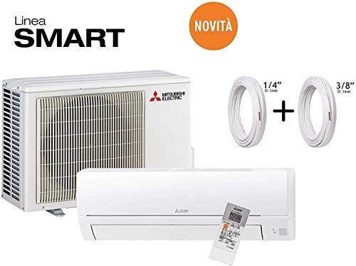 Mitsubishi Klimaanlage DC Inverter Monosplit R32 Fernbedienung MSZ-HR50VF 18000 BTU + Kupferrohre 1/4 Zoll + 3/8 Zoll 12 Metri (12+12)