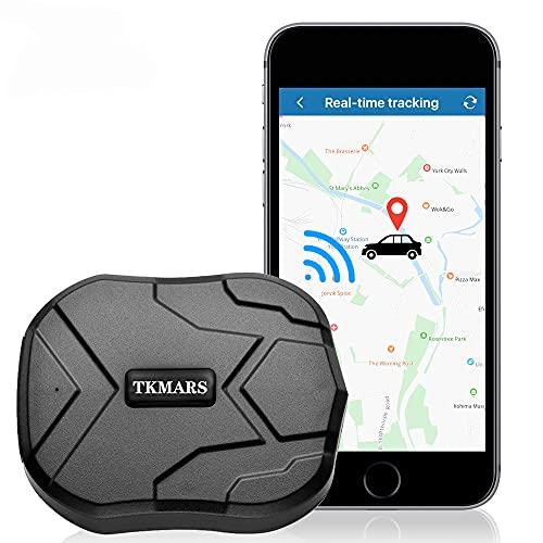 Localizador GPS para Coche,4G GPS Tracker para Autos Vehículo o Moto,Antirrobo Rastreador GPS con Imán Fuerte Oculto,Alarma Anti-Robo, Límite de Velocidad y Geo-Cerca para Android y iOS TK905