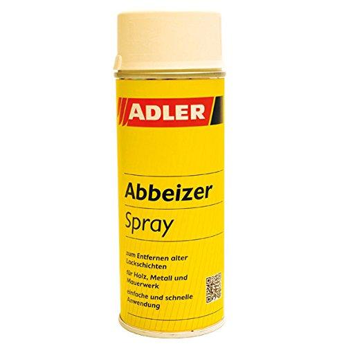 ADLER Abbeizer Spray - 400ml - Hochwirksamer Lack Entferner für Holz, Metall, Stein und Beton - Einfache Anwendung