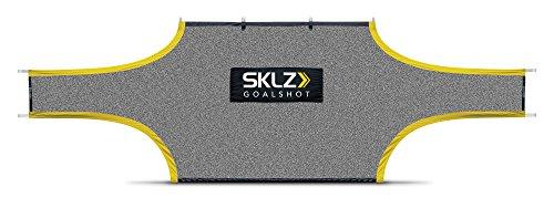SKLZ Unisex-Youth 12'x7' goalshot 21 'x 7' Target Net Fußball Training Aids, Black and Yellow, 21ft x 7ft (UK Size)