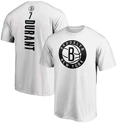 Männer Jersey Brooklyn Nets # 11 Kevin Durant Retro Basketball-Hemd Sommer-Basketball-Trikot Basketball Lässige Sportswear Löse Lauf-T-Shirt (S ~ XXXL),M