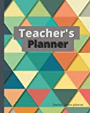 Teacher Lesson Planner 2021-2022: Lesson Plan and Record Book: Grade Book For Teachers, Weekly and Monthly Planner, Academic Planner For Teachers, Record attendance with fine cover.