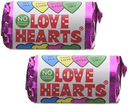 Mini Love Heart Rolls x30