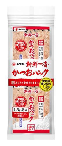 ヤマキ 新鮮一番使い切りかつおパック12g 8包 [5978]