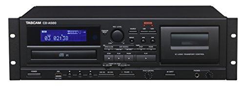 Tascam CD-A580 Rackmount Cassette CD USB MP3 Player Recorder Combo