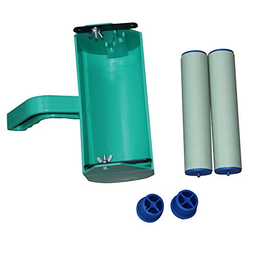 Utoolmart 7 Inch Paint Roller Painting Frame Machine with Handle Roller Brush Green DIY Tool for Home Wall Decoration