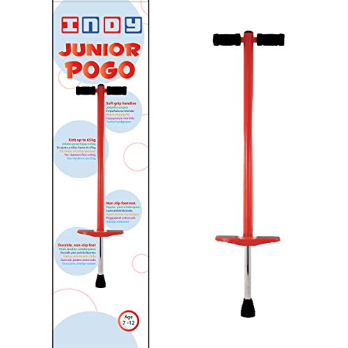 Indy Kids 'Junior po-go Stick, rot, Medium