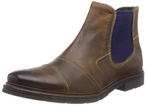bugatti Herren 321622353200 Klassische Kurzschaft Stiefel Stiefel, Braun, 42 EU