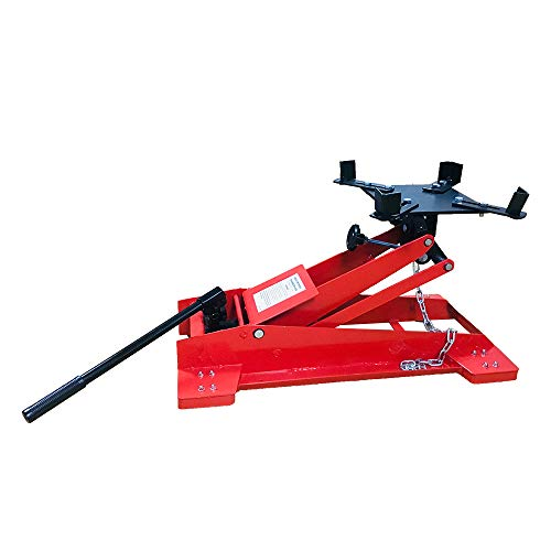 Heavy Duty Adjustable 1/2 Ton 1100 LBS Floor Low Profile Transmission Jack Lift New